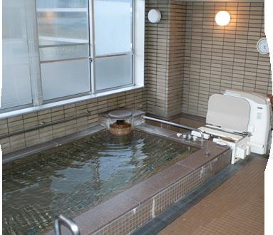入浴リハビリ