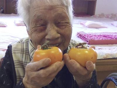 干し柿づくり!